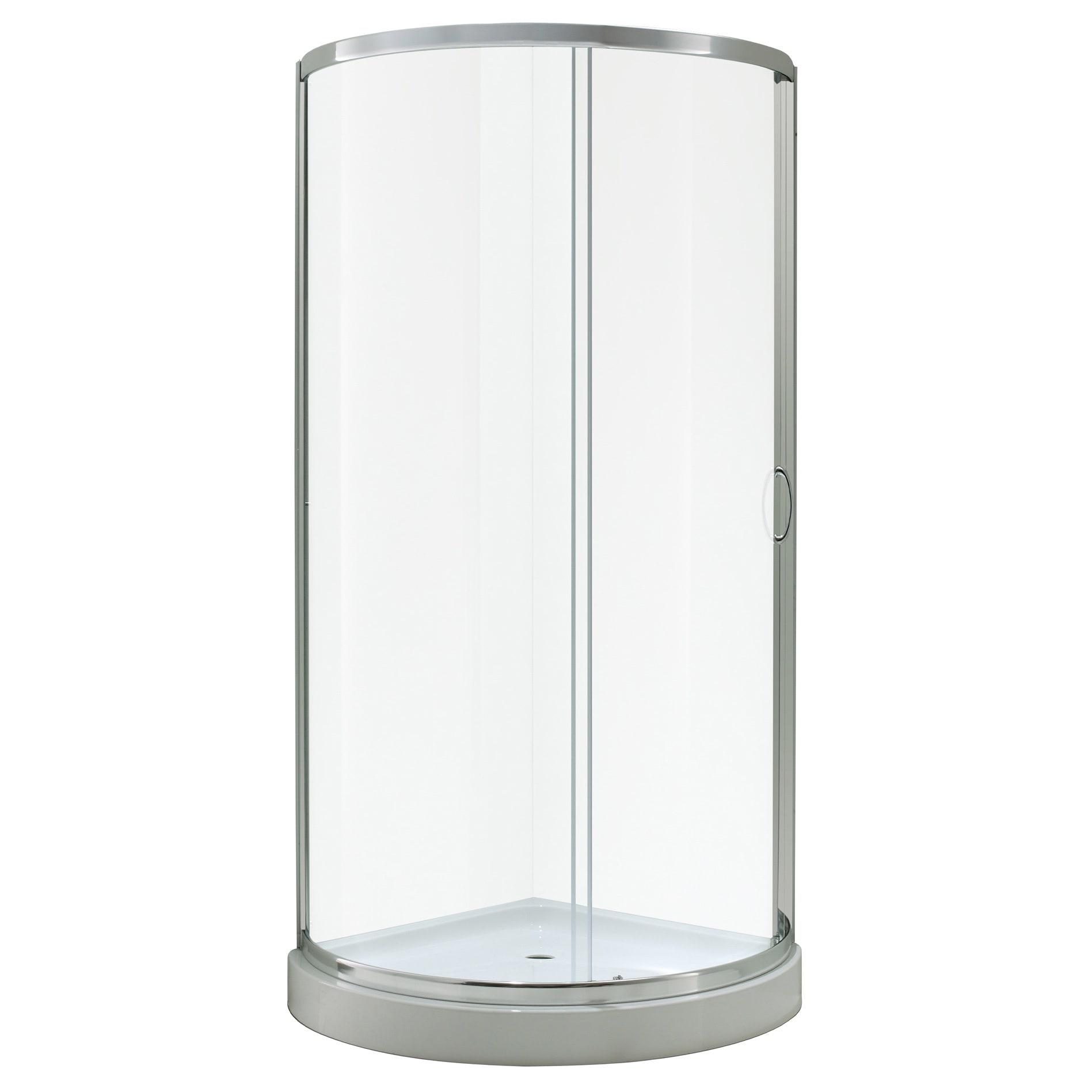 OVE Decors Breeze 31-inch Shower Enclosure Kit with Paris...