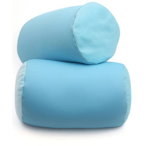 Mooshi Squishy Microbead Pillow - Hypoallergenic Bean Bag Cushie Pillow - Fun Bubbly Colors - Great for Teens