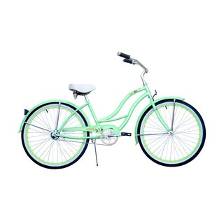 Micargi Tahiti Women's 26-inch Mint Green Beach Cruiser Bike