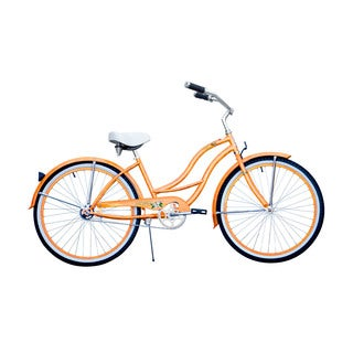 Micargi Tahiti 26-inch Orange Beach Cruiser
