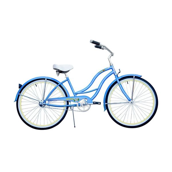 Micargi Tahiti 26-inch Sky Blue with Vanilla Rims Beach Cruiser