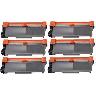 Brother TN630/TN660 High Yield Black Laser Toner Cartridge (Pack of 6)