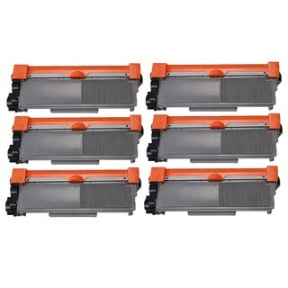 Brother TN550 TN580 Black Laser Toner Cartridge (Pack of 6)