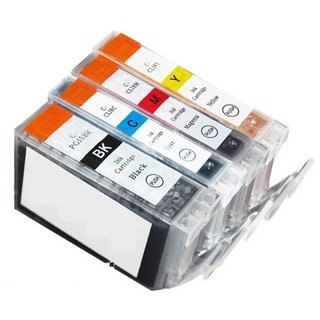 4 Pack Canon PGI-5 CLI-8 Ink Cartridge (1 thick black,  1 Cyan, 1 Magenta, 1 Yellow)