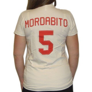 Women's Rockford Peaches Mae Mordabito Jersey T-shirt