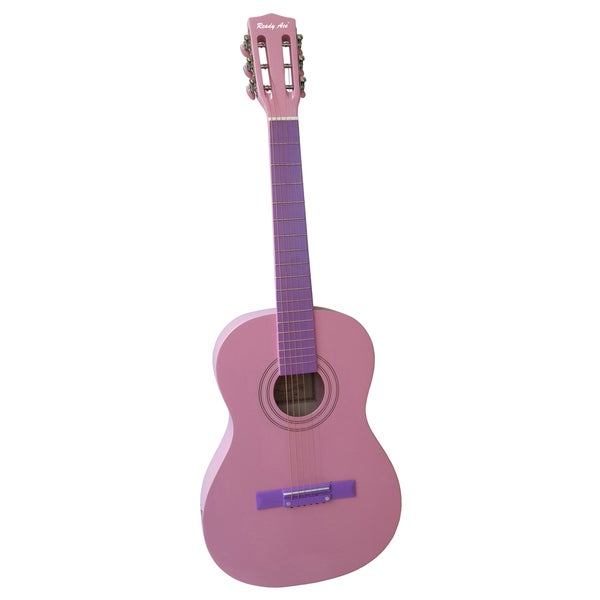 Ready Ace 36-inch Pink Acoustic Guitar