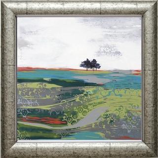 Leslie Bernsen 'Summer Breeze' 28 x 28 Framed Art Print