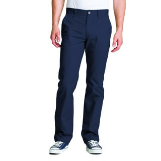 Lee Young Men's Navy Straight Leg College Pant