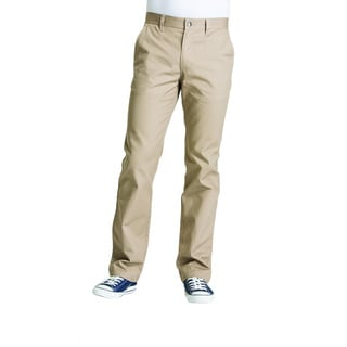 Lee Young Men's Khaki Straight Leg College Pant