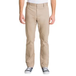 Lee Young Men's Khaki Slim Straight Leg Pant