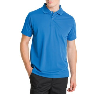 Lee Young Men's Royal Blue Short Sleeve Sport Polo