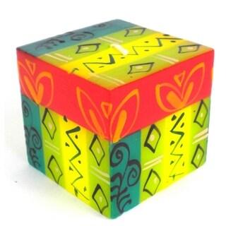 Handmade Cube Candle Matuko Design Nobunto Candles (South Africa)