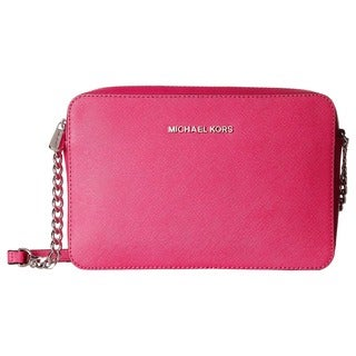 MICHAEL Michael Kors Jet Set Raspberry Crossbody Bag