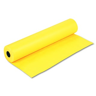 Pacon Rainbow Duo-Finish Canary Colored Kraft Paper