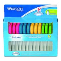 Westcott Kids Scissors with Antimicrobial Protection (Pack of 12)