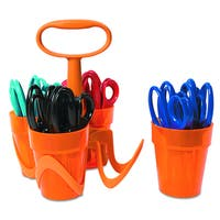 Fiskars Assorted Scissors (24 Scissors and 1 Caddy)