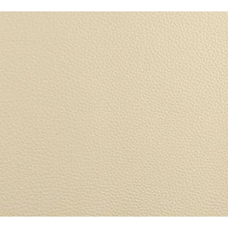 G646 Bone Off White Pronounced Leather Grain Recycled Leather