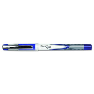 Zebra Z-Grip Flight Stick Blue Ballpoint Pen (2 Packs of 12)