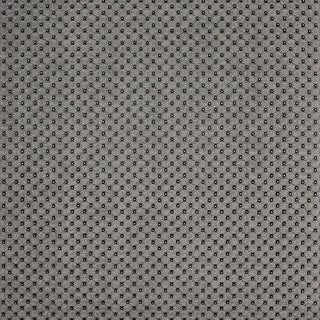 G665 Silver Metallic Tufted Look Upholstery Faux Leather