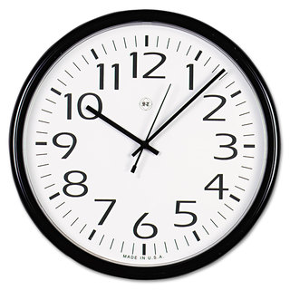 universal black round wall clock free shipping on orders