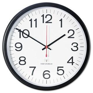 Universal One Indoor/Outdoor Black Clock