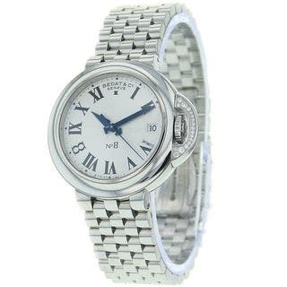 Bedat Women's 827.021.600 'No. 8' Silver Stainless steel Watch|https://ak1.ostkcdn.com/images/products/10267102/P17383947.jpg?impolicy=medium
