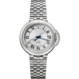 Bedat Unisex 831.011.100 'No. 8' Automatic Silver Stainless steel Watch