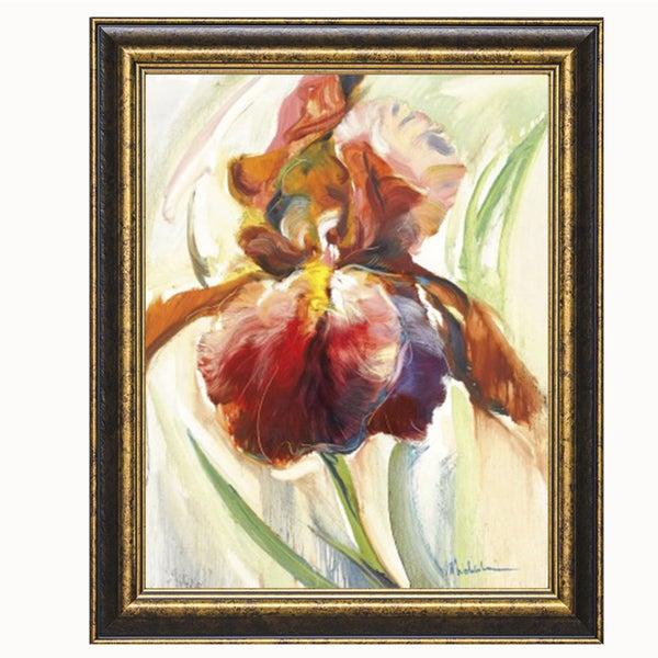 Shop Maria Zielinska-Colors Of Iris ll 22 x 28 Framed Art Print - On ...
