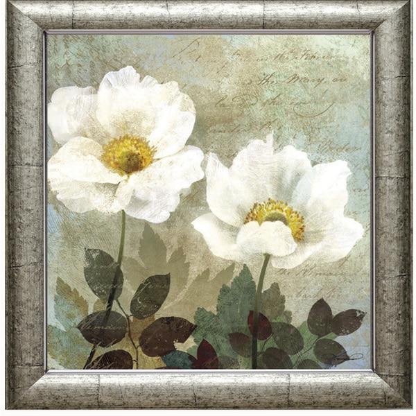 Keith Mallet-Anemone ll 28 x 28 Framed Art Print