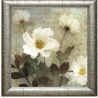 Keith Mallet-Anemone l 28 x 28 Framed Art Print - Multi