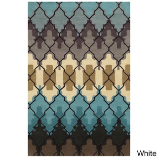 Hand-tufted Bradberry Downs Wool Accent Rug - 9' x 12'
