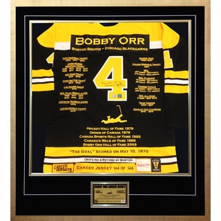 Bobby Orr Career Jersey no. 144 of 144