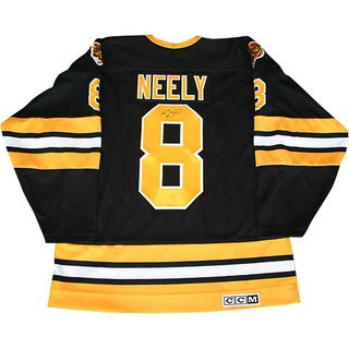 Cam Neely Autographed Black Boston Bruins Jersey