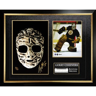 'The Mask' Autographed by Gerry Cheevers