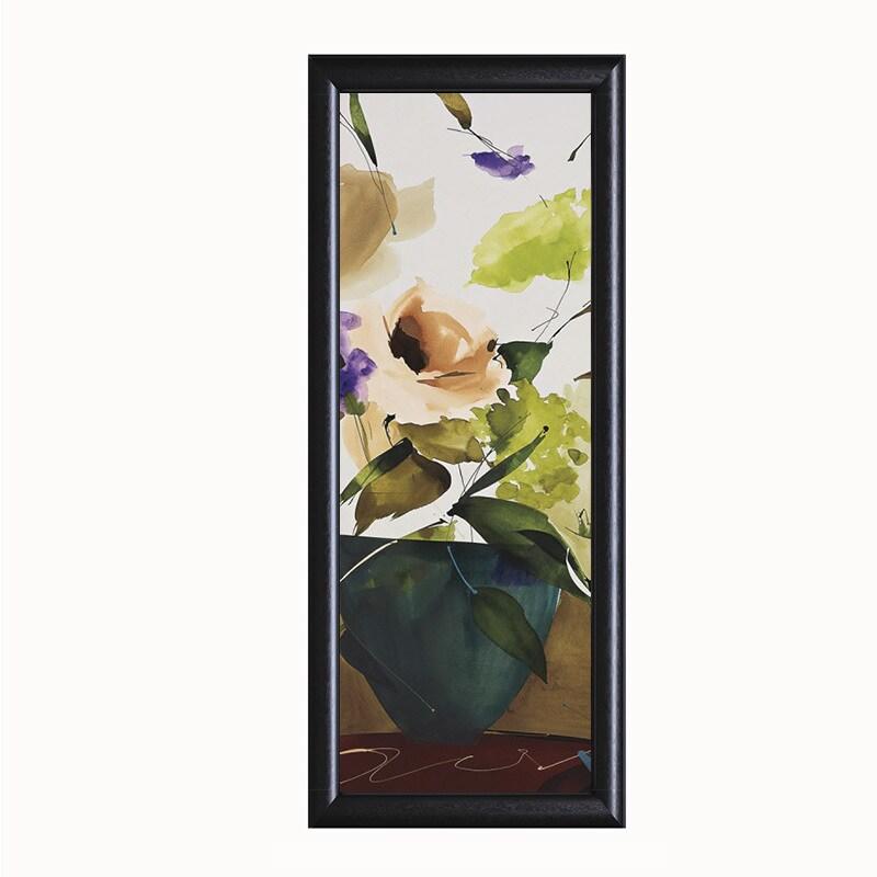 Lola Abellan-Sentiment, 16 x 40 Framed Art Print (Embelli...