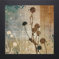 Tandi Venter 'Organic Elements l'  22 x 22 Framed Art Print