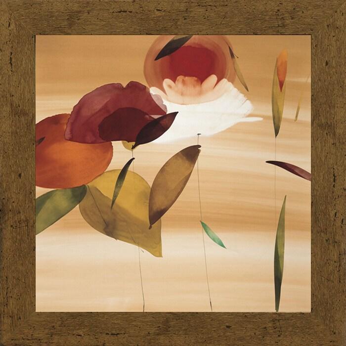 Unbranded Lola Abellan-Floral Inspiration II 28 x 28 Fram...