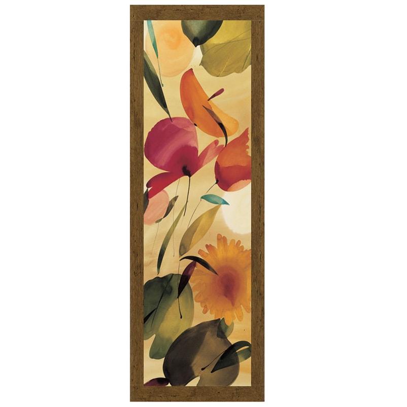 Lola Abellan-Fiesta Primaveral II, 16 x 40 Framed Art Pri...