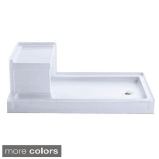 Kohler Tresham Single Threshold Shower Base with Right Drain (32 inches x 60 inches)