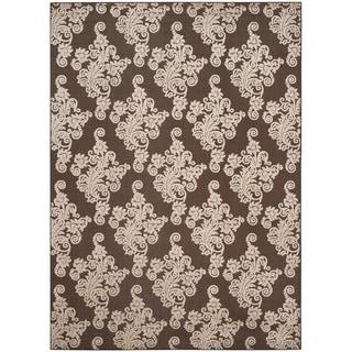 Safavieh Cottage Brown/ Beige Rug (8' x 11'2)