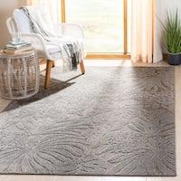 Safavieh Monroe Grey Indoor/ Outdoor Botanical Rug - 3'3 x 5'3