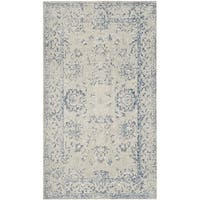 Safavieh Patina Grey/ Blue Rug (3' x 5')