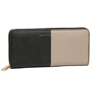 Marc by Marc Jacobs Soph Halfsies Slim Zip Wallet Black/Multi