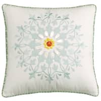 Echo Design Jaipur Cotton 18-inch Square Pillow