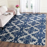 Safavieh Cottage Cream/ Royal Rug - 8' x 11'2