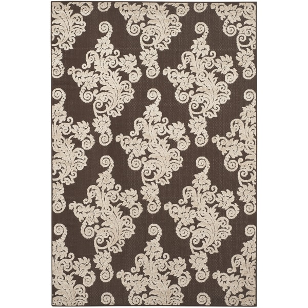 Safavieh Cottage Brown/ Beige Rug (5'3 x 7'7)
