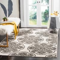 Safavieh Cottage Cream/ Grey Rug - 5'3 x 7'7