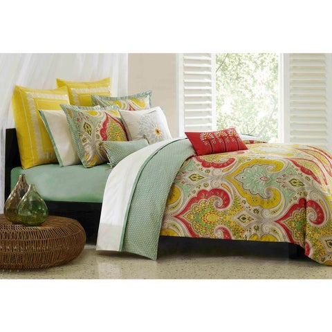 Echo Design Jaipur Multi-cotton Duvet Cover Set