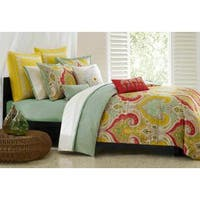Echo Design Jaipur Multi-cotton Duvet Cover Set