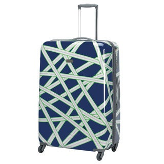 Happy Chic by Jonathan Adler Zipper 29-inch Hardside Spinner Upright Suitcase